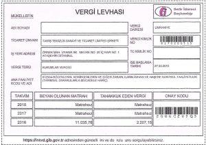 Vergi Levhası
